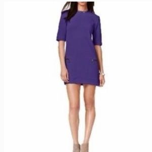 RACHEL Rachel Roy Dark Purple Sheath Dress
